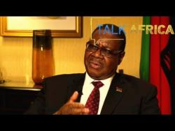 Talk Africa 07/17/2016  A conversation with Peter Mutharika